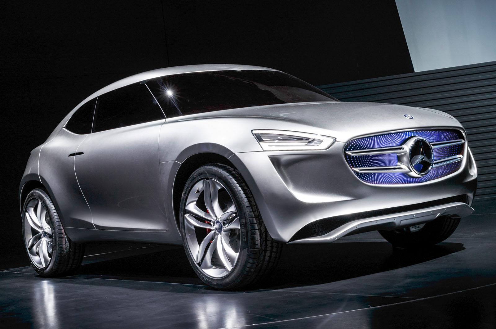 Mercedes-Benz giới thiệu siêu phẩm concept tuyệt đẹp