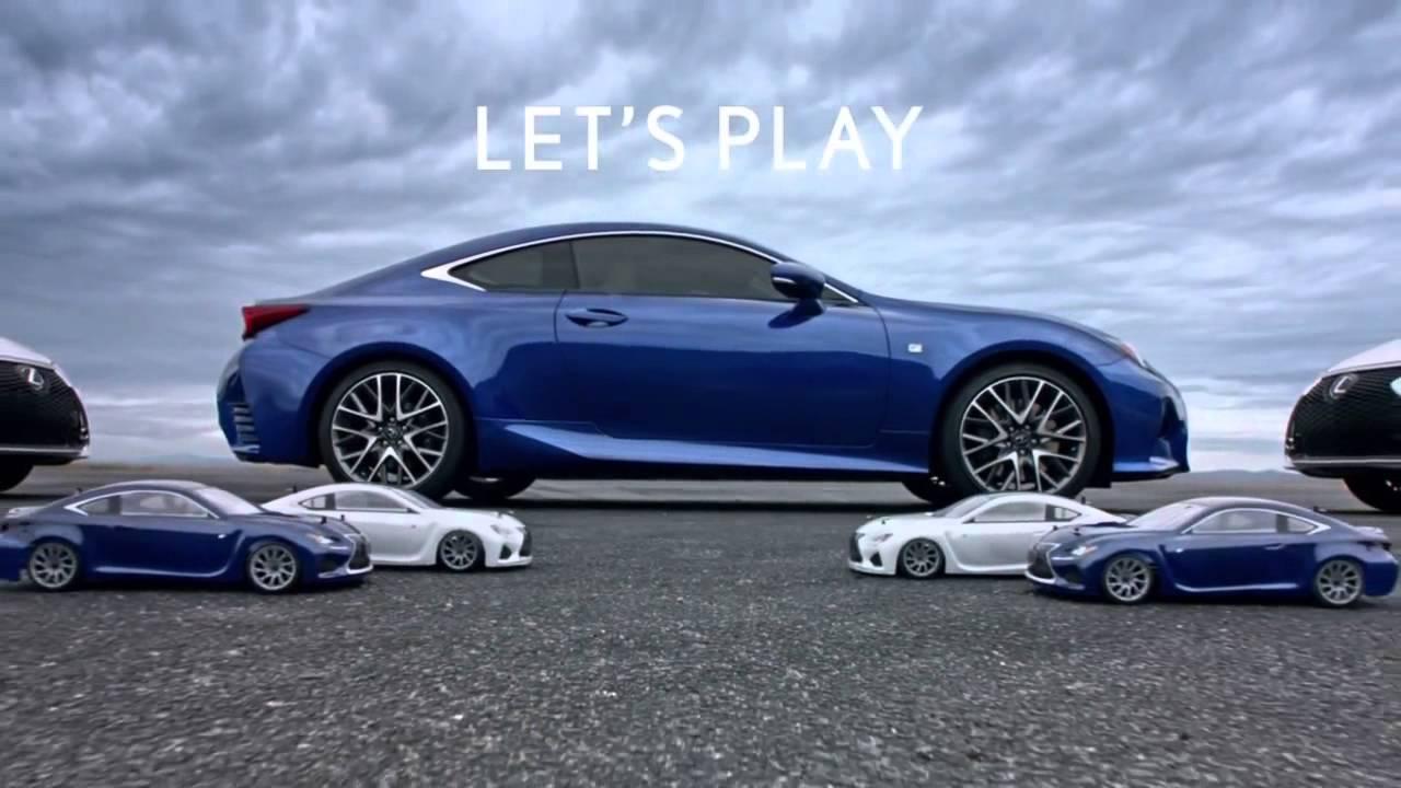 Lexus RC: Cùng chơi nào!