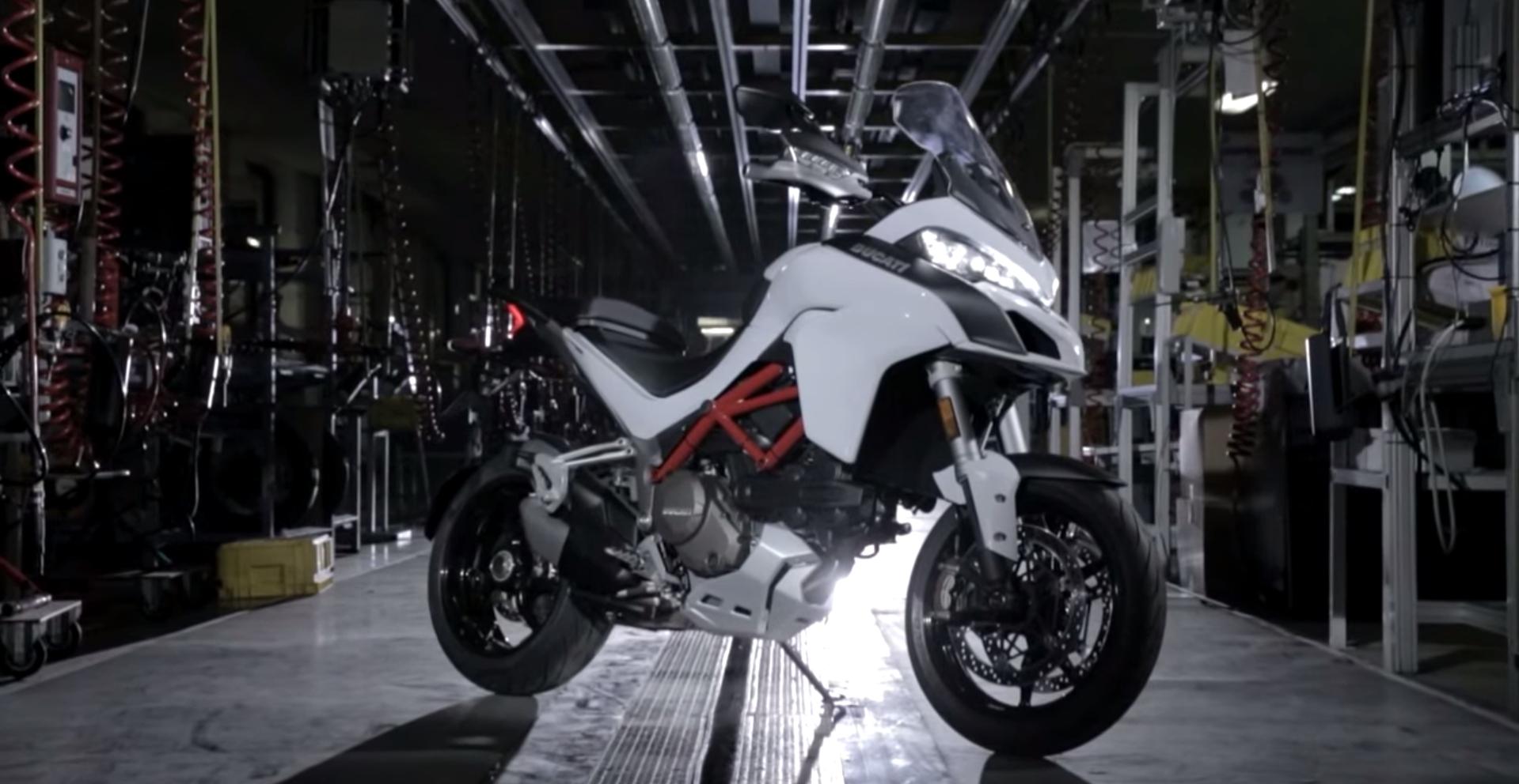 Toàn bộ quá trình sản xuất một chiếc Ducati Multistrada 1200