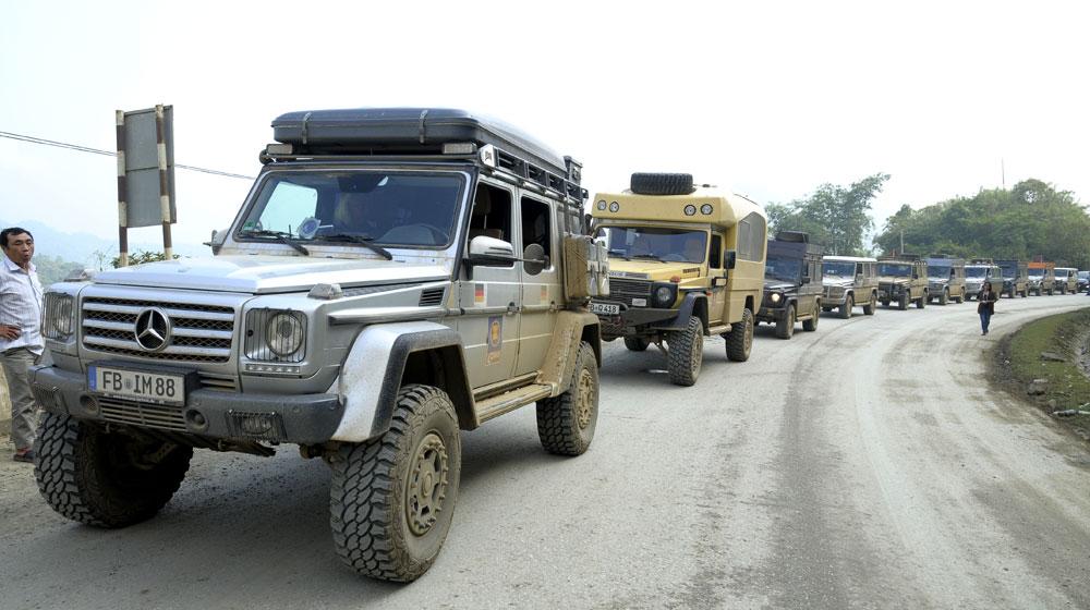 """Ngày 2 hành trình cùng các """"bạn"""" Mercedes G-Class trên đất Việt - 1"""