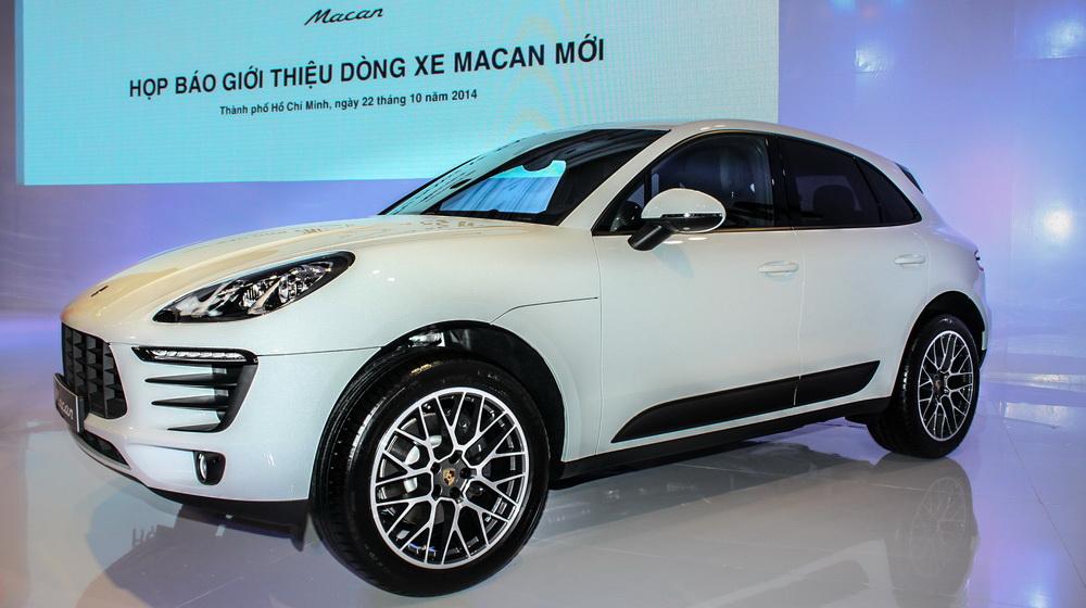 Cận cảnh Porsche Macan vừa ra mắt tại Việt Nam