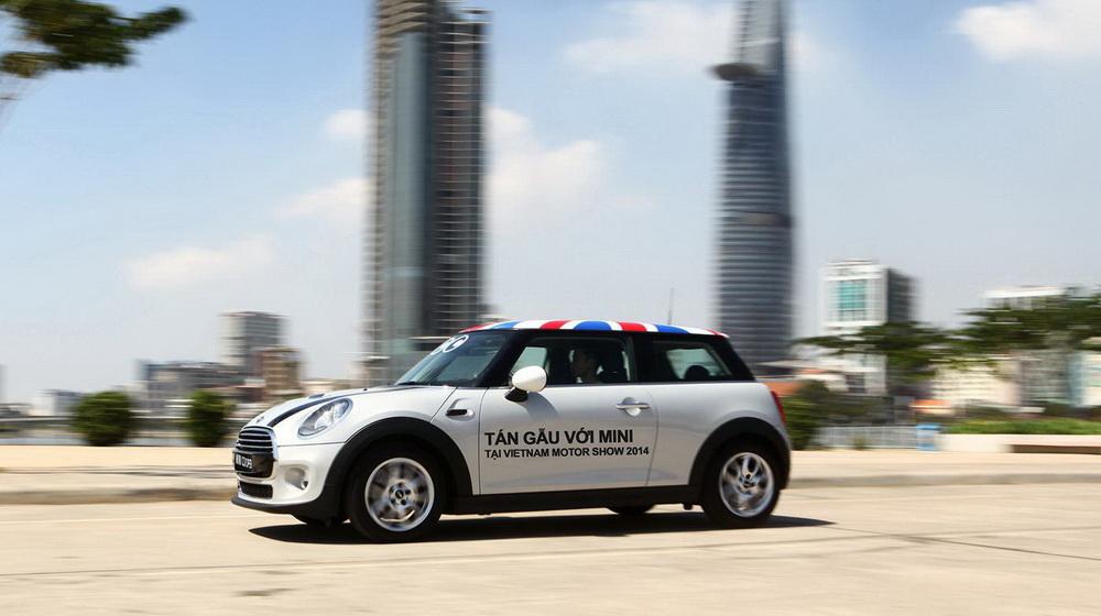 """Mini Cooper đã sẵn sàng """"khai hỏa"""" tại Vietnam Motor Show 2014 - 2"""