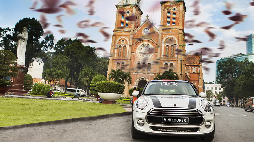 """Mini Cooper đã sẵn sàng """"khai hỏa"""" tại Vietnam Motor Show 2014 - 1"""