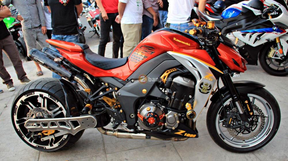 """Kawasaki Z1000 độ """"cực độc"""" tại Việt Nam - 1"""