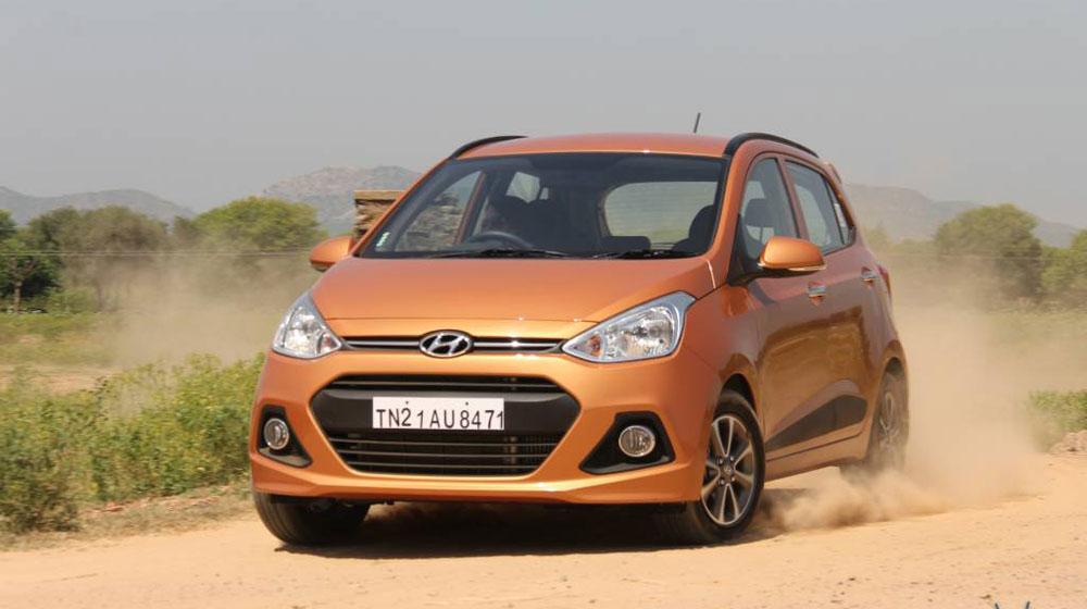 Grand i10, mẫu xe đang đắt khách tại thị trường Việt Nam được Hyundai Thành Công nhập khẩu từ Ấn Độ.