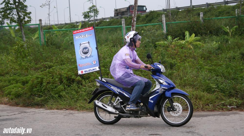 tiêu thụ nhiên liệu của Suzuki Viva 115 Fi