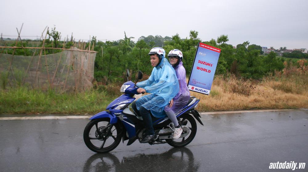 tiêu thụ nhiên liệu của Suzuki Viva 115 Fi 5