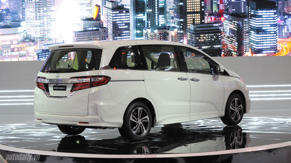 Odyssey 2016 Xe đa dụng 7 chỗ Honda Odyssey đã có mặt tại đại lý honda odyssey vms 2015 20 2