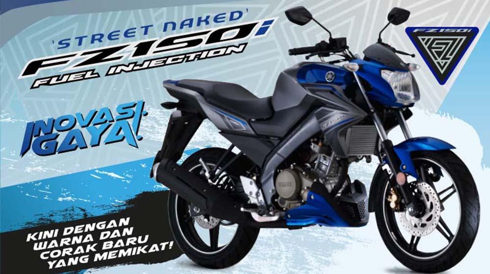 Yamaha FZ150i 2016 bổ sung thêm 3 màu mới, thêm lựa chọn 1