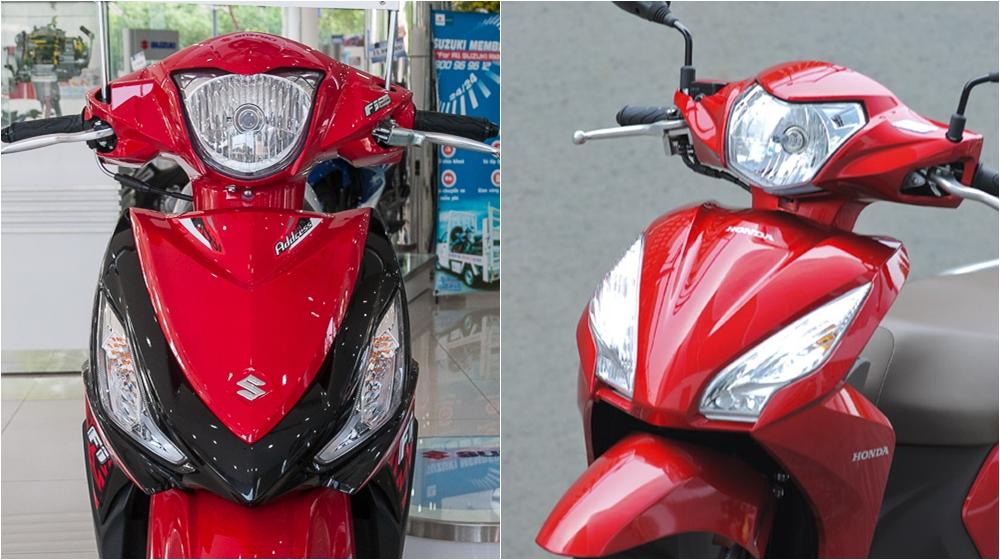 Chọn mua Honda Vision hay Suzuki Address? xe nào tốt hơn