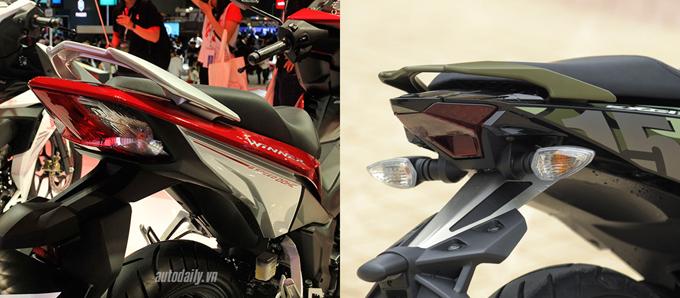 So sánh chi tiết Exciter 150cc vs Winner 150cc về hình ảnh, thiết kế và giá bán 3