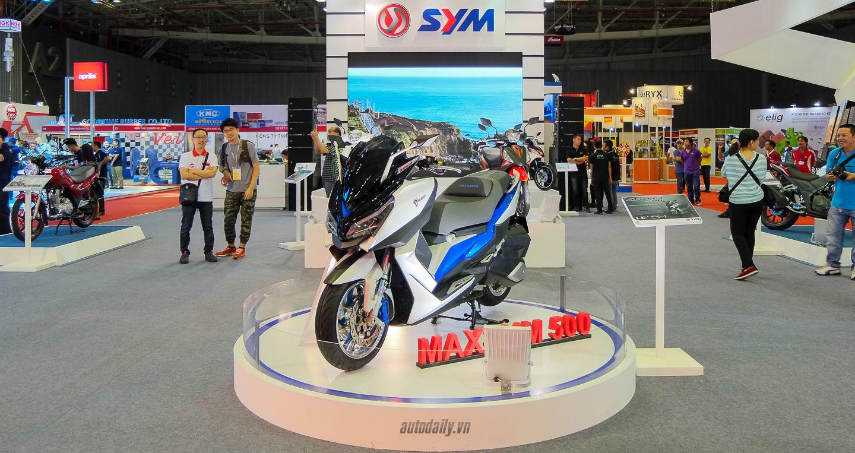 Xem thêm ảnh SYM Maxsym 500 Concept