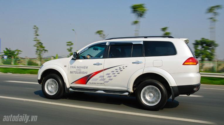 Đánh giá Mitsubishi Pajero Sport
