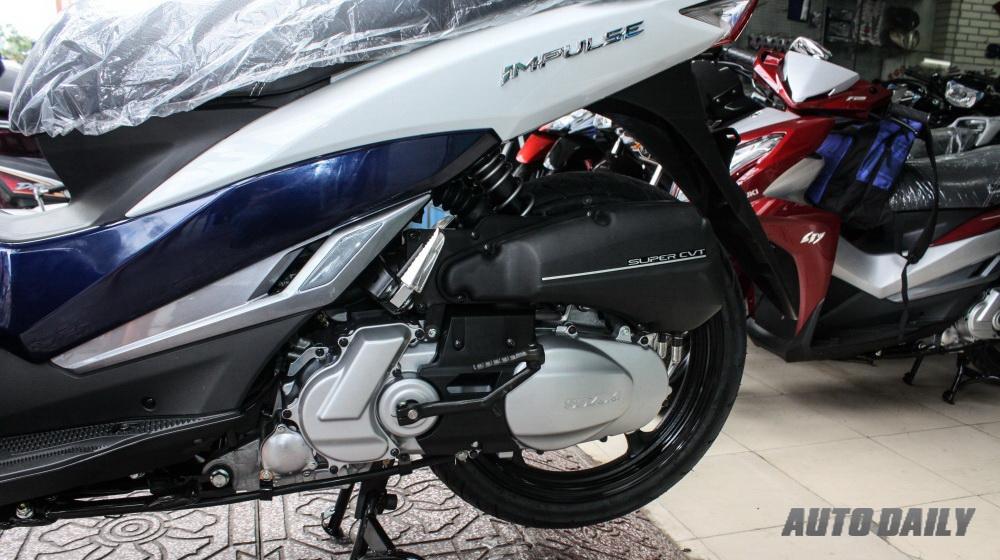 Ảnh chi tiết của Suzuki Impulse tại Việt Nam