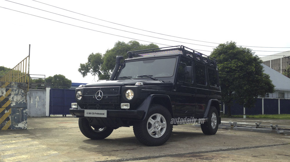 "Mercedes G300 CDI phiên bản Professional ""Edition PUR"" tại Việt Nam"