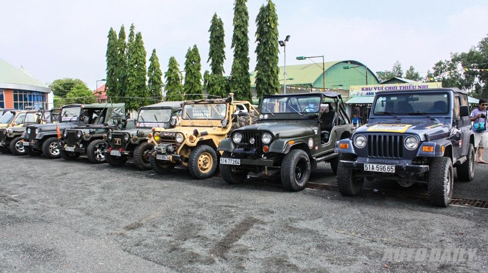 Dàn xe Off-Road tại lễ ra mắt CLB