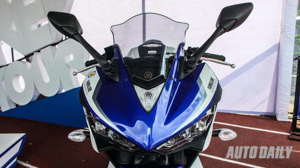 Cận cảnh Yamaha R25 tại Việt Nam
