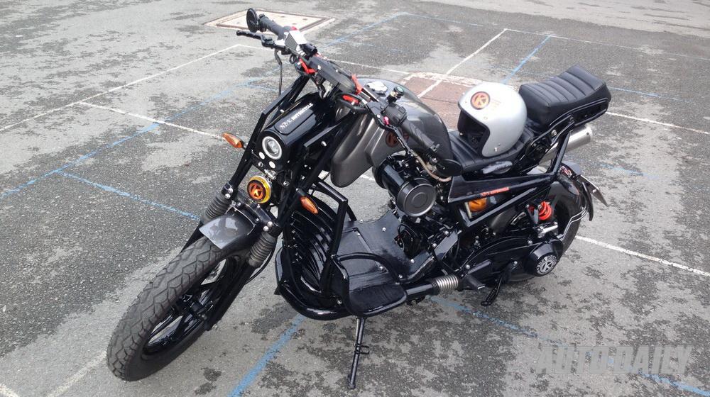 """SYM Fiddle 125cc """"độ"""" cực độc tại Việt Nam"""
