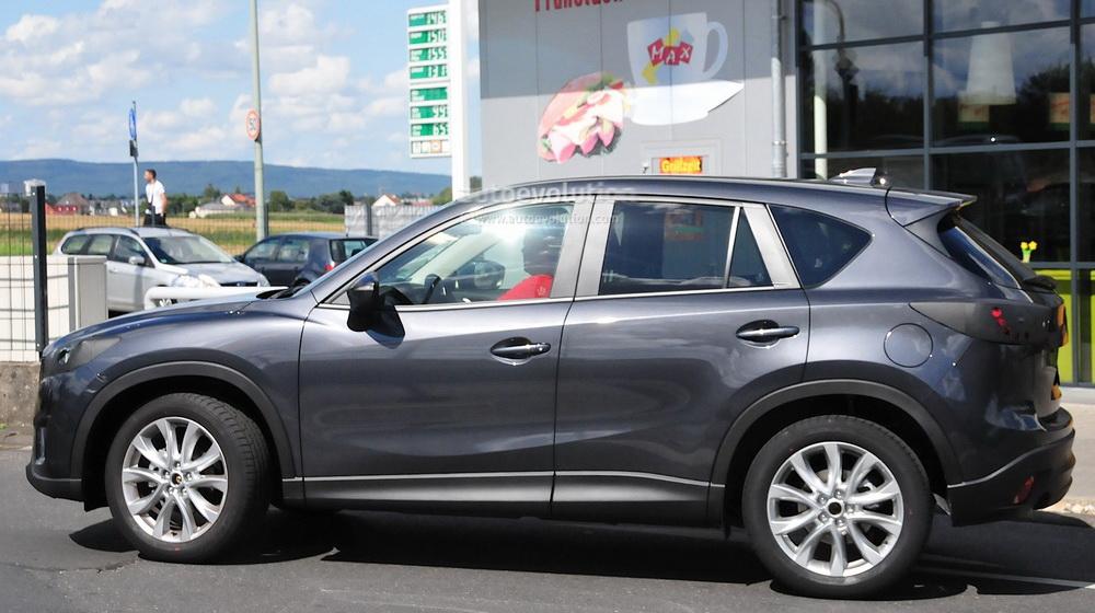 Mazda CX-5 2016 trong quá trình chạy thử