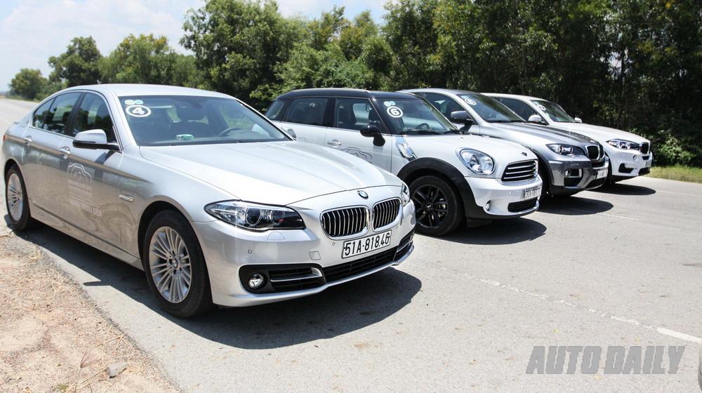 Hành trình BMW World, ngày 1