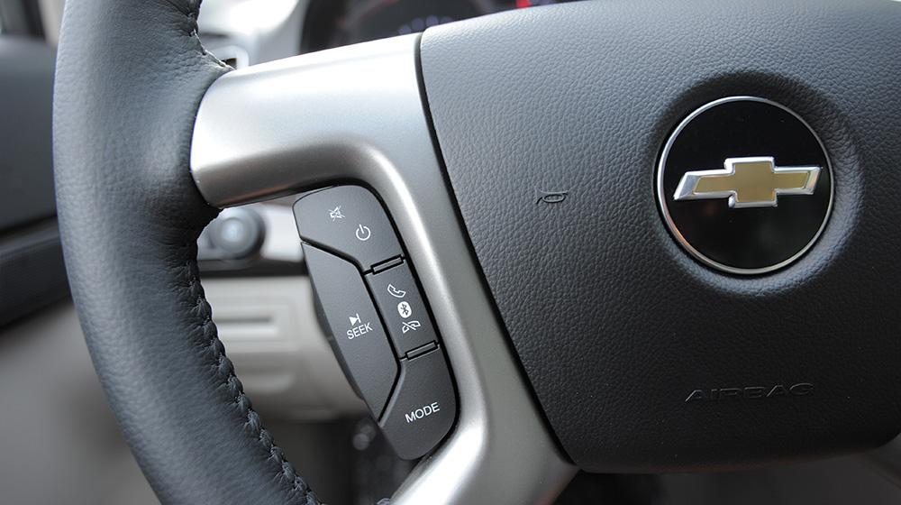 Ảnh chi tiết Chevrolet Captiva LTZ 2014