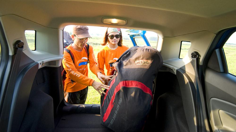 Ford Ecosport Paragliding