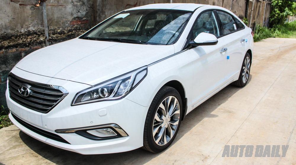 Cận cảnh Hyundai Sonata 2015 tại Sài Gòn