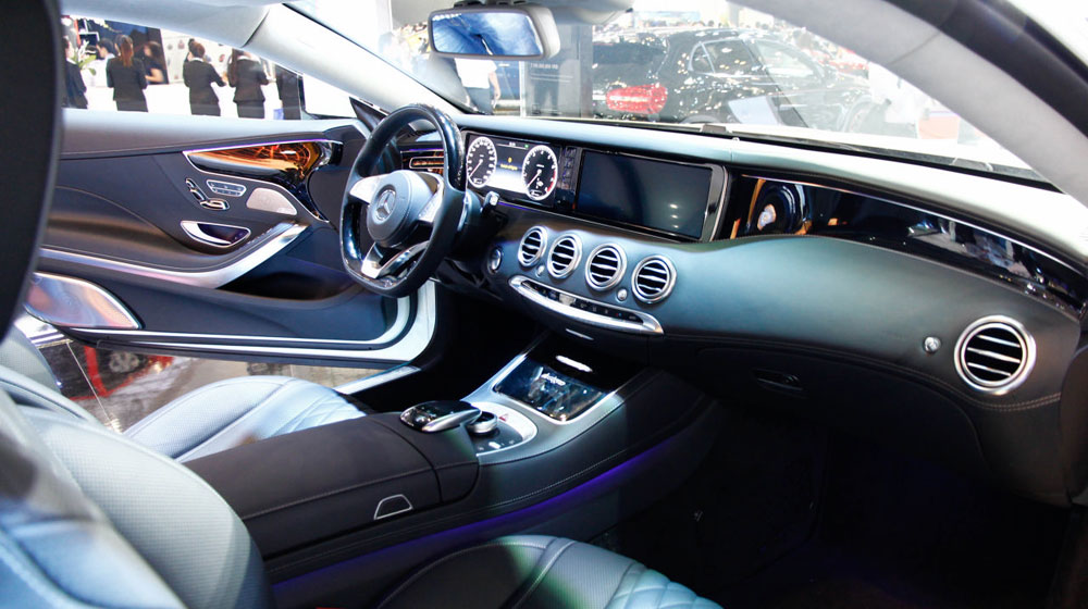 Mercedes S 500 4MATIC Coupe