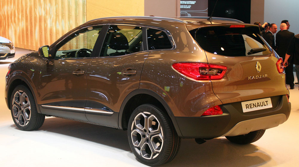 Renault Kadjar at Geneva