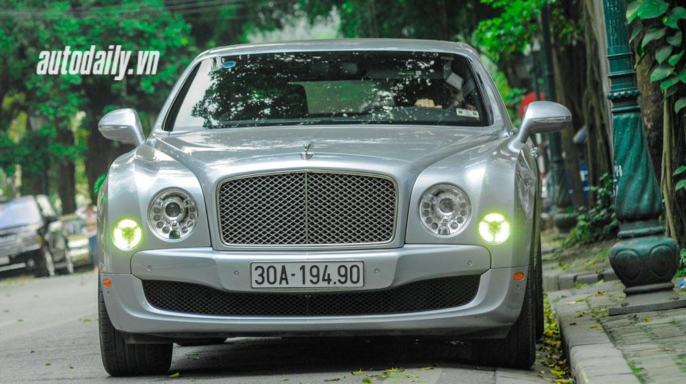 Chi tiết Bentley Mulsanne Le Mans Limited Edition trên phố Việt