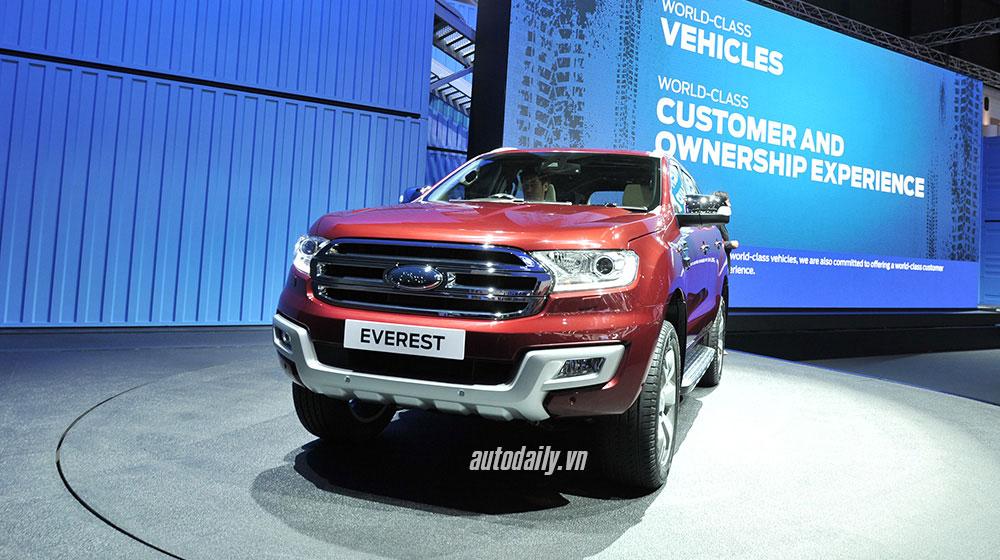 Ford Everest 2015 at Bangkok