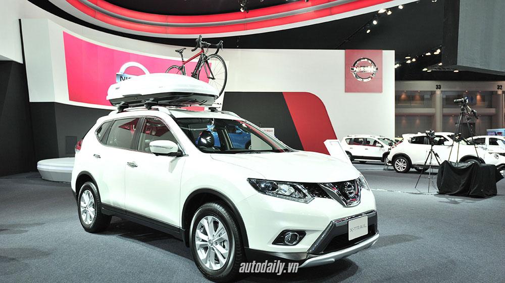 Nissan X-Trail 2015 at Bangkok Motor Show