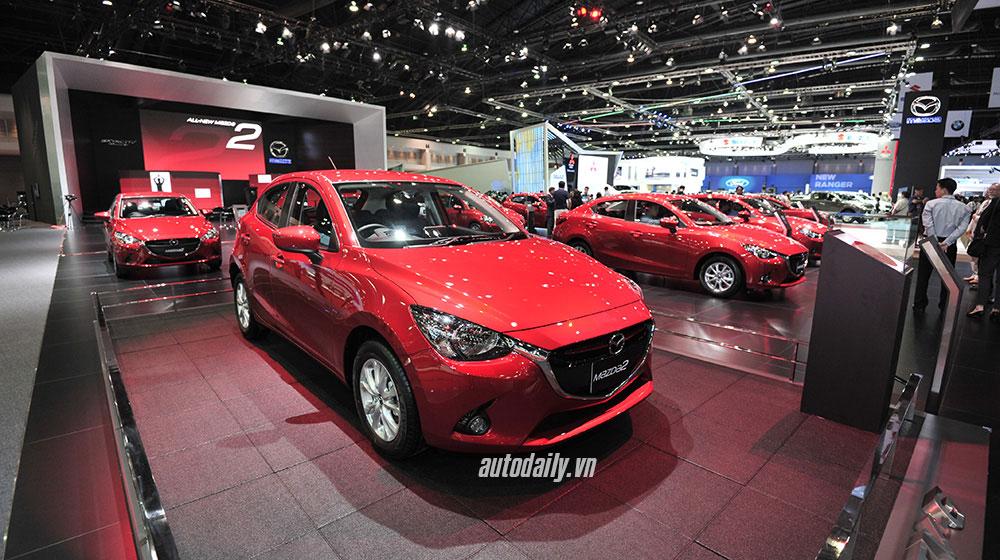 Mazda2 at Bangkok Motor Show