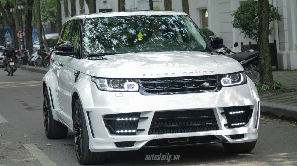 Range Rover Sport độ Lumma CLR SR tại Hà Nội