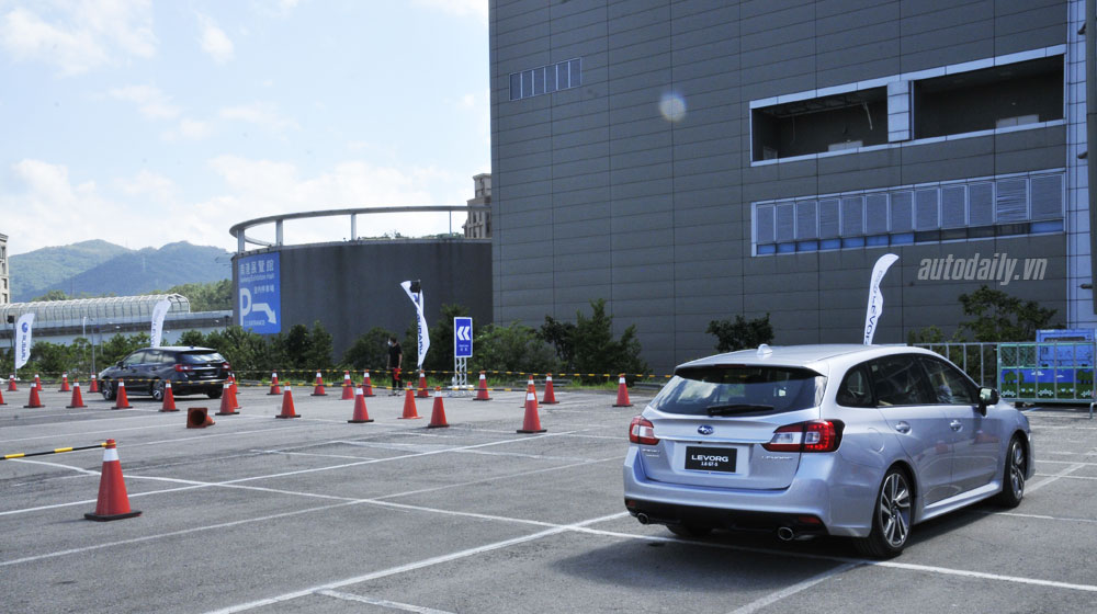 Lái thử Subaru Levorg