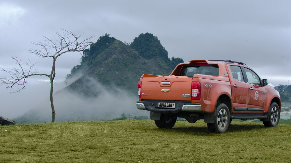 Hành trình Chevrolet Colorado High Country