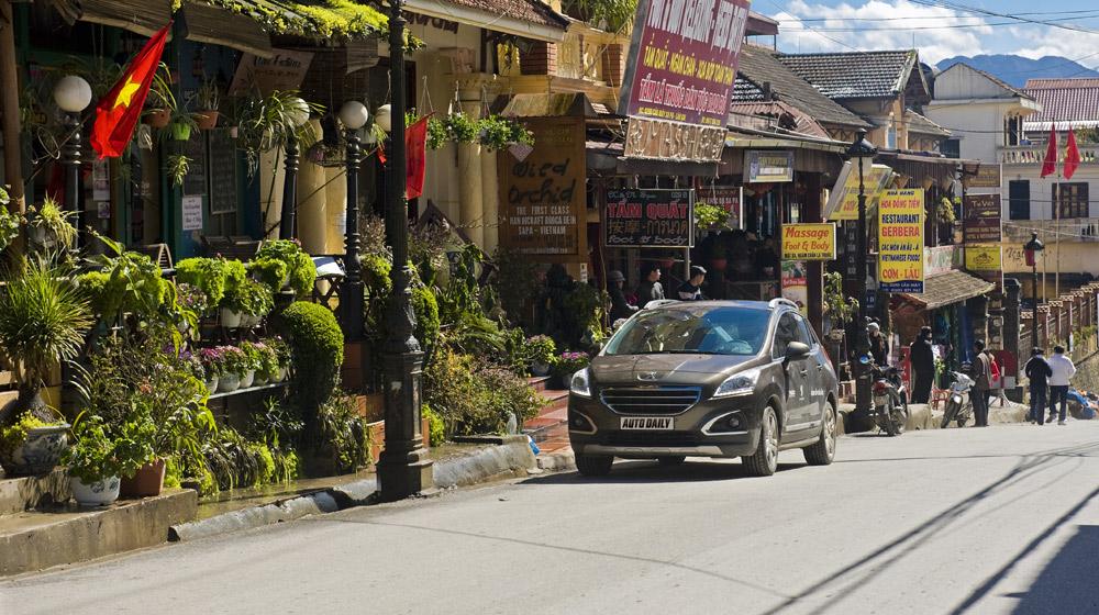 Peugeot 3008 và tuyết trắng Sapa